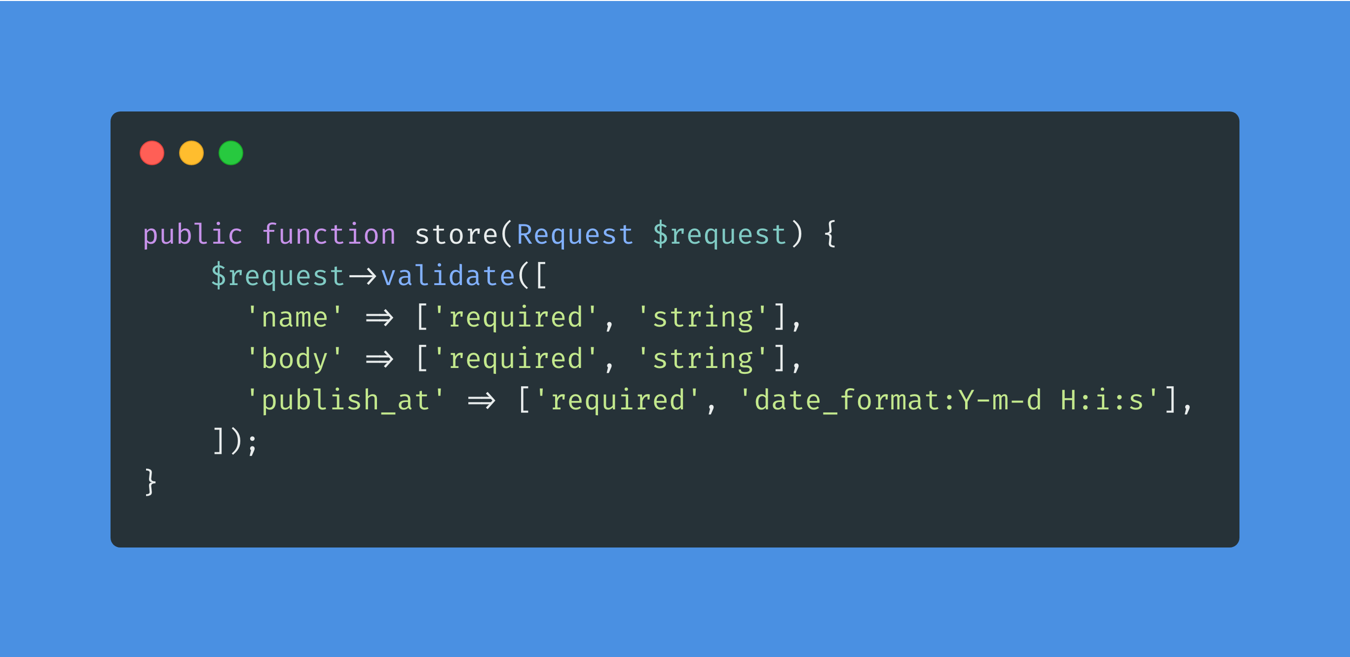 Laravel Validation 101, Controllers, Form Requests, & Rules - Post Image