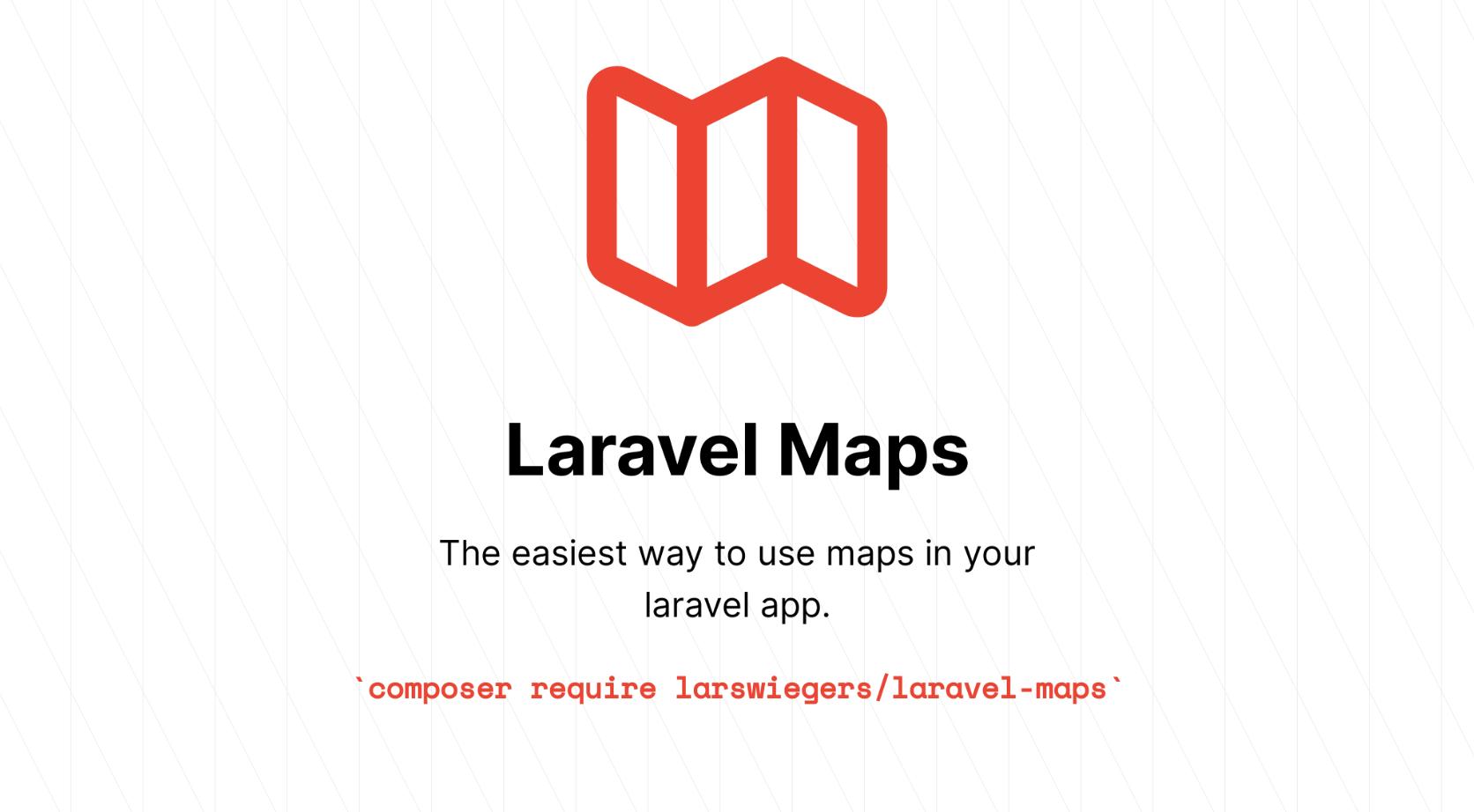 Laravel Maps - Package Image