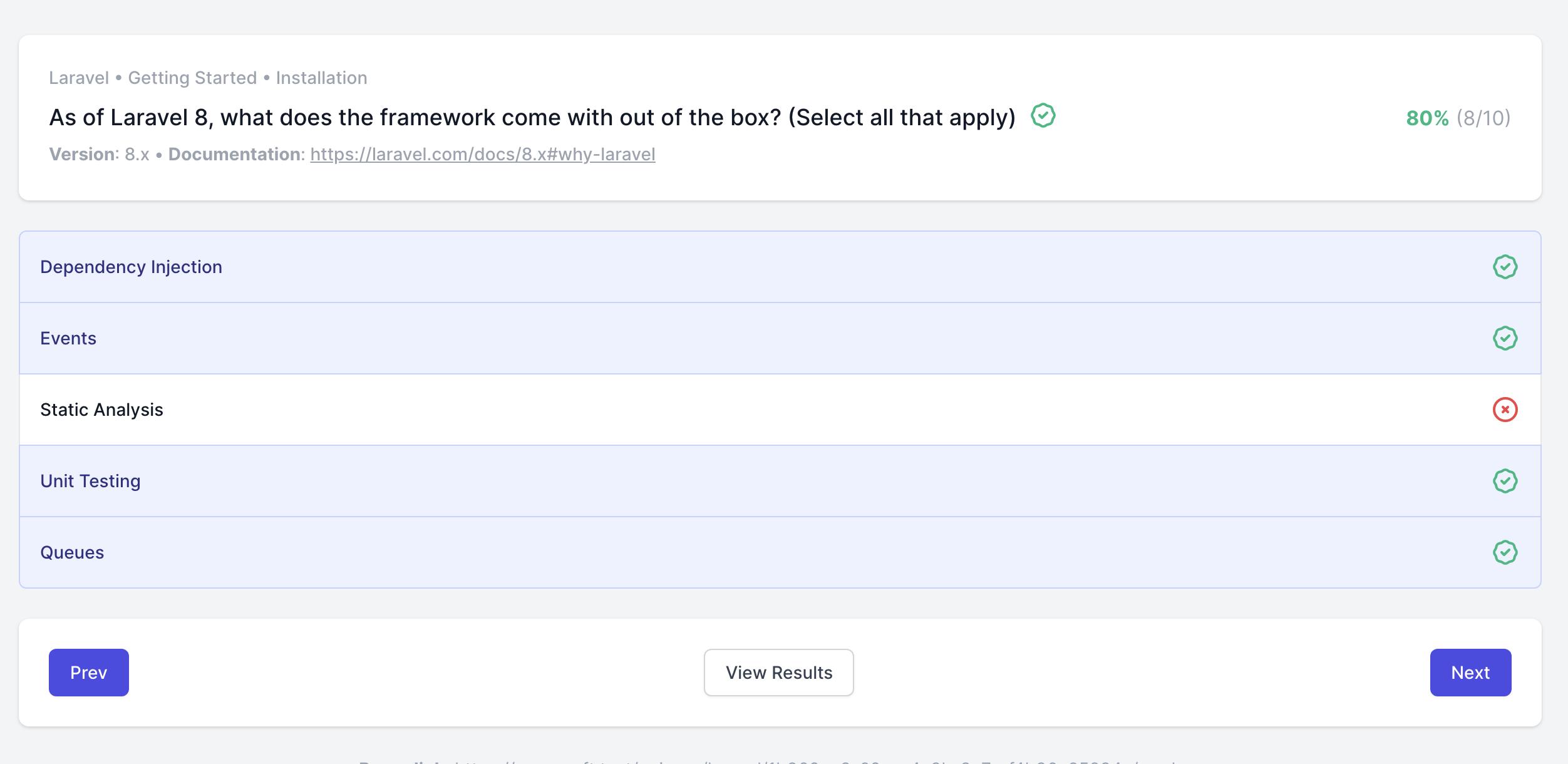 Introducing Laravel Quizzes - Post Image