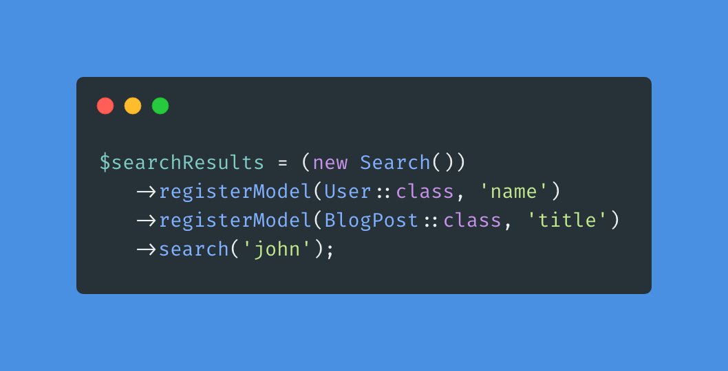 Laravel Searchable - Package Image