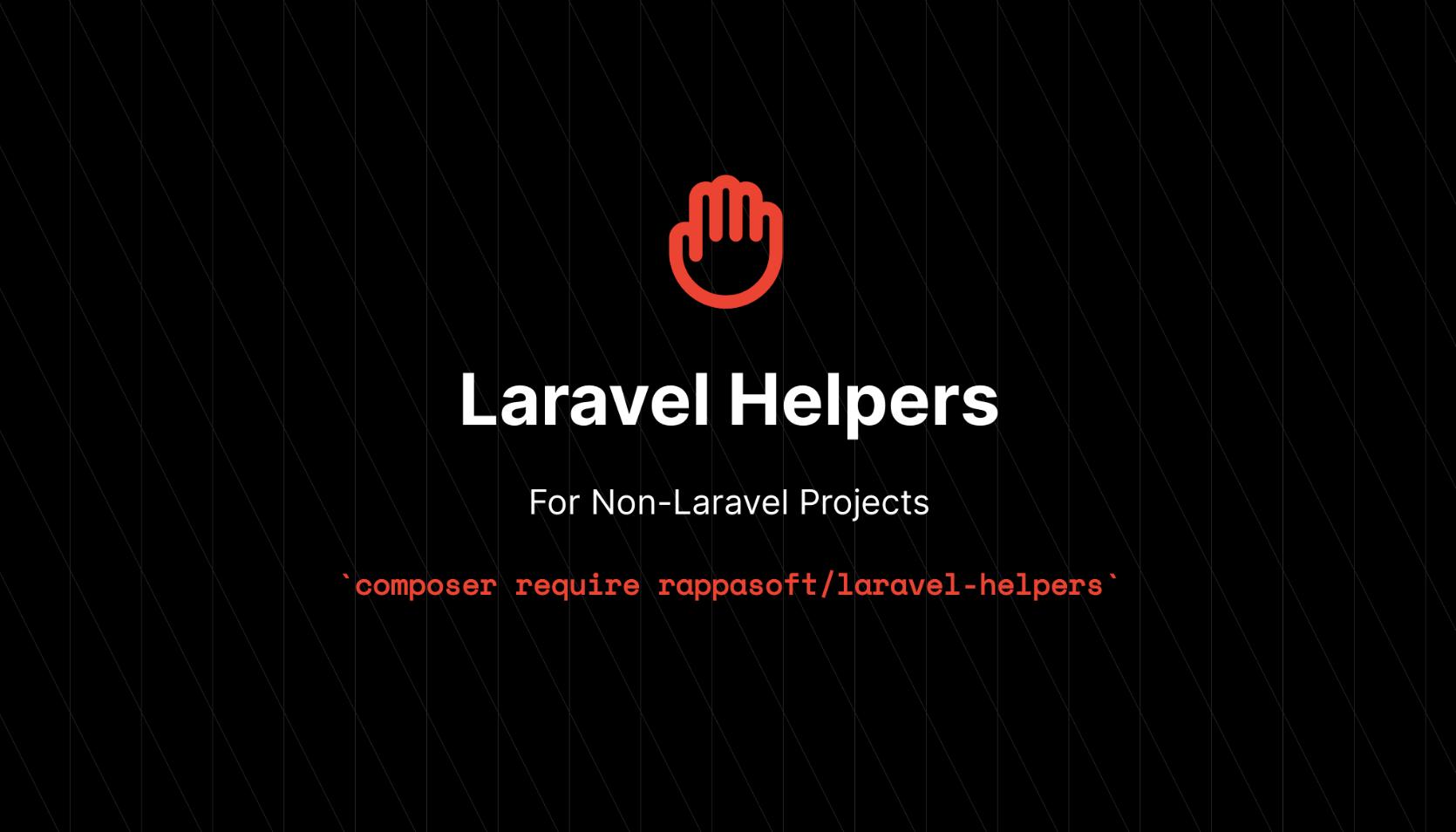 Laravel Helpers - Package Image