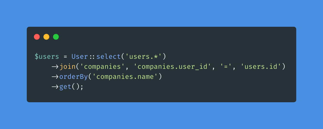 Ordering database queries by relationship columns in Laravel - Post Image