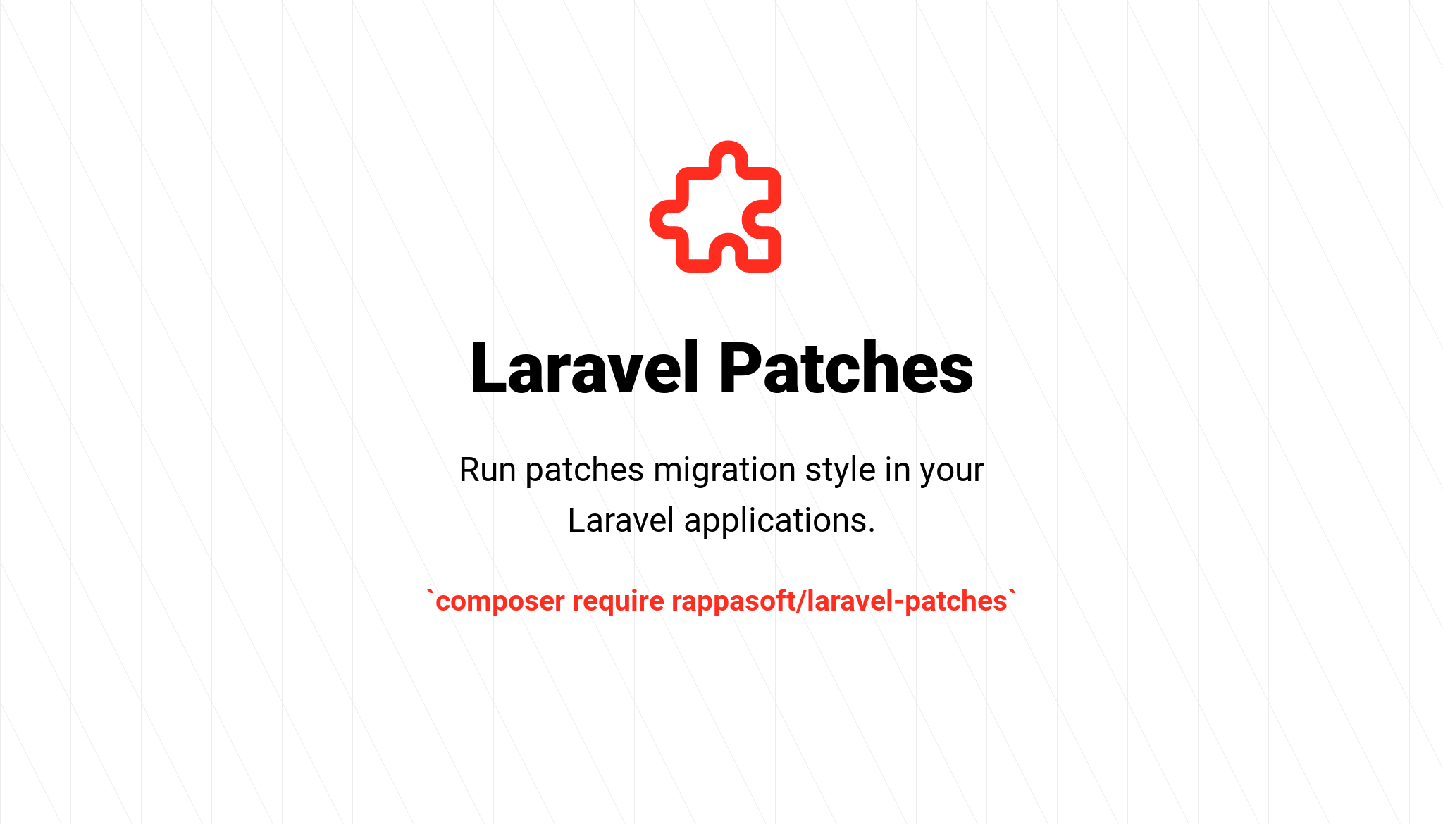 Laravel Patches - Package Image