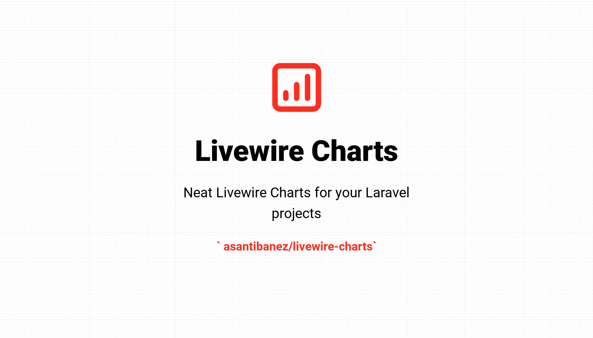 Livewire Charts - Package Image
