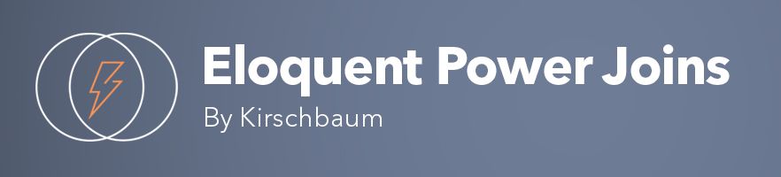 Eloquent Power Joins - Package Image